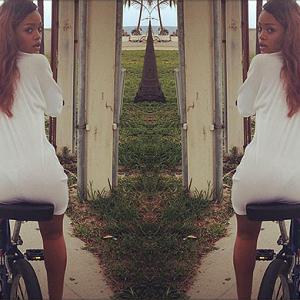 This bike delivery proves Rihanna is the Oprah of the music world