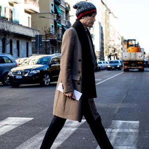 Street style at Milan Men's Fashion Week