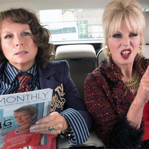 You won't believe what the Ab Fab stars have to say about selfies