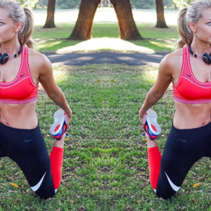 Anna Heinrich's training routine and real-life diet