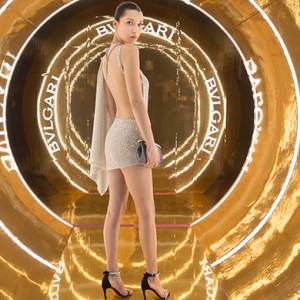 See Bella Hadid's first outing for Bulgari