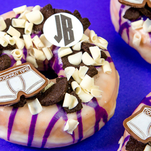 Can you guess who these doughnuts are in honour of?