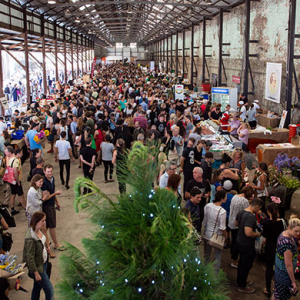 Carriageworks Christmas markets is back