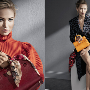 Must see: Jennifer Lawrence shows off new Dior handbags