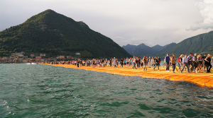 Italy's incredible Floating Piers have opened to the public