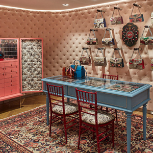 Feast for your eyes: Gucci's Collins St store reopens
