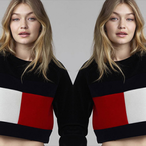Gigi Hadid turns her hand at fashion design