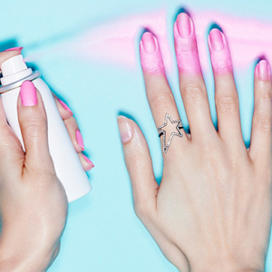 The next big thing in nails? Introducing spray-on polish