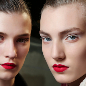 2016's top trend: the new way to wear a red lip