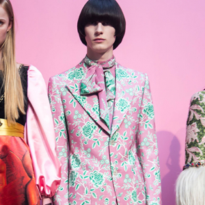 Gender-bending Gucci to merge its men's and women's shows