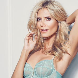 """I never really diet""; Heidi Klum talks fitness, food and fave lingerie"