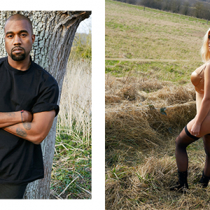 Kanye the fashion stylist? See his racy lingerie shoot with Kim