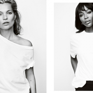 Kate Moss and Naomi Campbell join forces to fight breast cancer