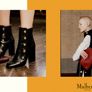 The first Mulberry designs by Johnny Coca are here!