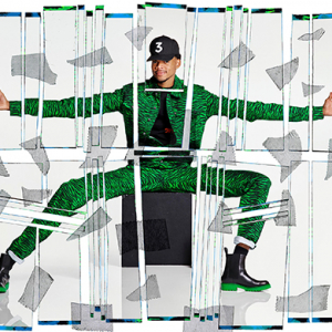Kenzo x H&M gets a leg up from Chance The Rapper and Iman