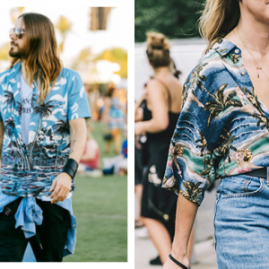 Style takes a Hawaiian trip in summer's boy/girl trend