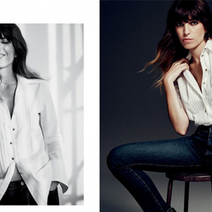 Lou Doillon proves French women do it better for J Brand
