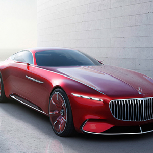 Sexy and sleek: Vision Mercedes-Maybach 6 electric coupe is now a reality