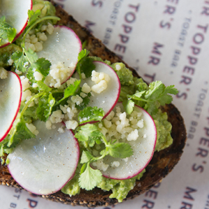 Hey millennials, here's a way to enjoy smashed avocado on toast