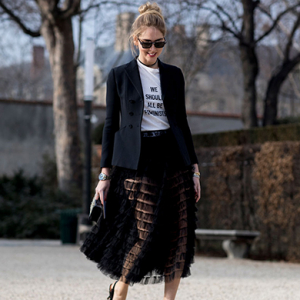 Street style at Paris couture: the best looks