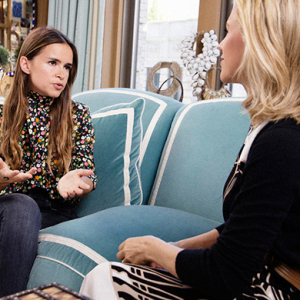 Sneak peek: Miroslava Duma chats to Tory Burch