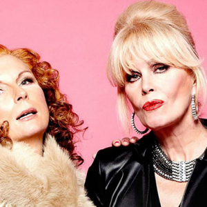 Video: Ab Fab's Patsy and Edina on working with Kate Moss