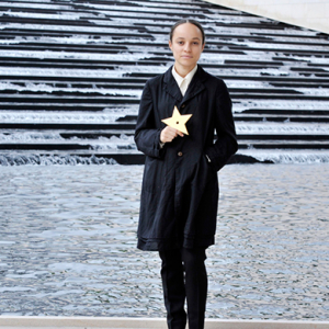One to watch: the 25-year-old designer Phoebe Philo and Karl Lagerfeld love