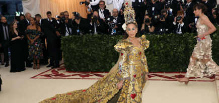 The most extreme celebrity looks at the Met Gala 2018