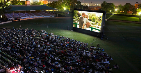 Lock-in date night: the Sunset Cinema is back!