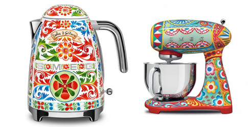 Dolce & Gabbana are now doing chic kitchen appliances