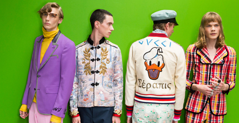The 27 best moments from Gucci's S/S '17 men's show