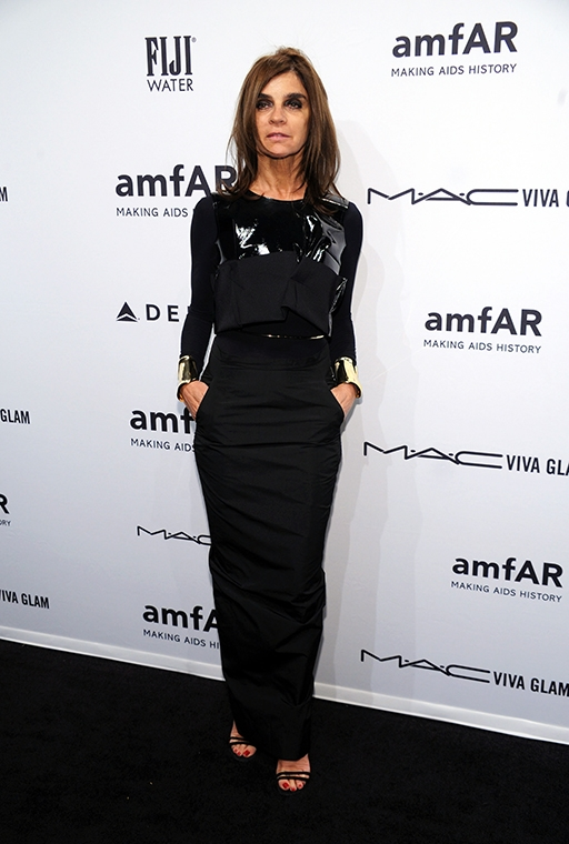 Exclusive: Carine Roitfeld talks personal style and what she won't ever wear (фото 4)