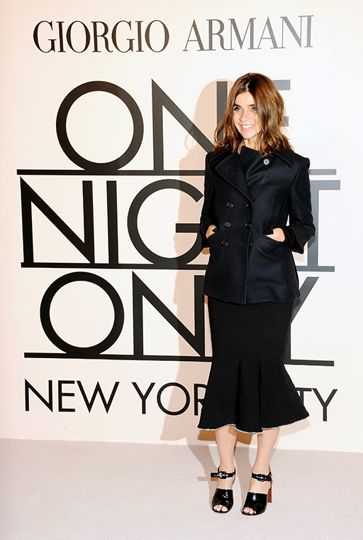 Exclusive: Carine Roitfeld talks personal style and what she won't ever wear (фото 16)