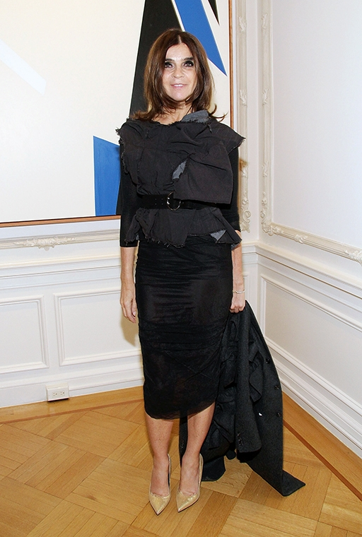 Exclusive: Carine Roitfeld talks personal style and what she won't ever wear (фото 18)