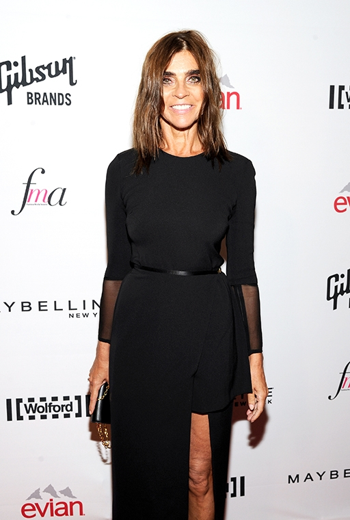 Exclusive: Carine Roitfeld talks personal style and what she won't ever wear (фото 5)