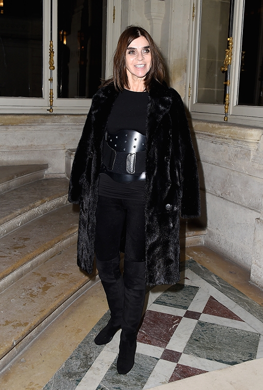 Exclusive: Carine Roitfeld talks personal style and what she won't ever wear (фото 2)