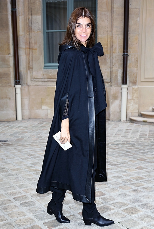 Exclusive: Carine Roitfeld talks personal style and what she won't ever wear (фото 22)