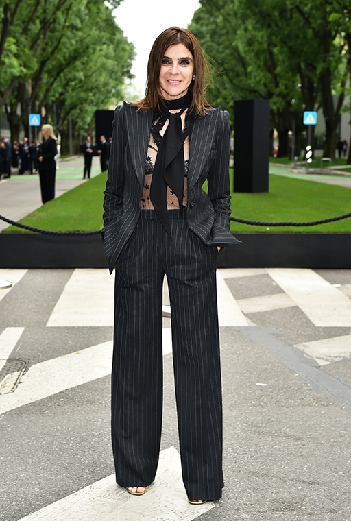 Exclusive: Carine Roitfeld talks personal style and what she won't ever wear (фото 1)