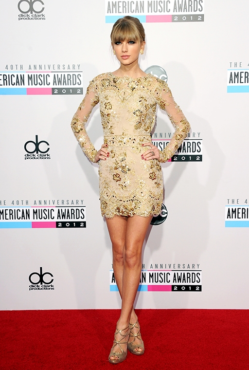 the 40th American Music Awards (November, 2012)