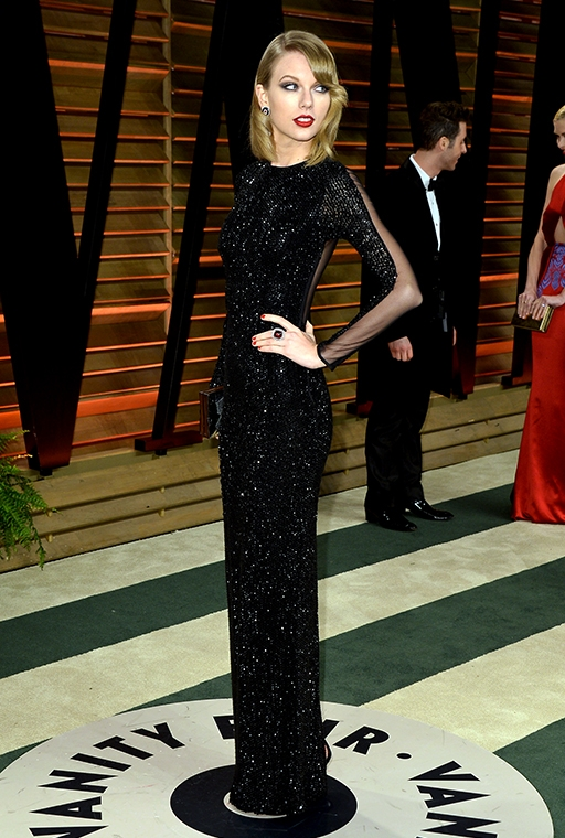 the 2014 Vanity Fair Oscar Party (March, 2014)