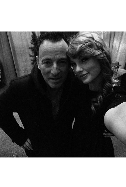 Bruce Springsteen and Taylor Swift