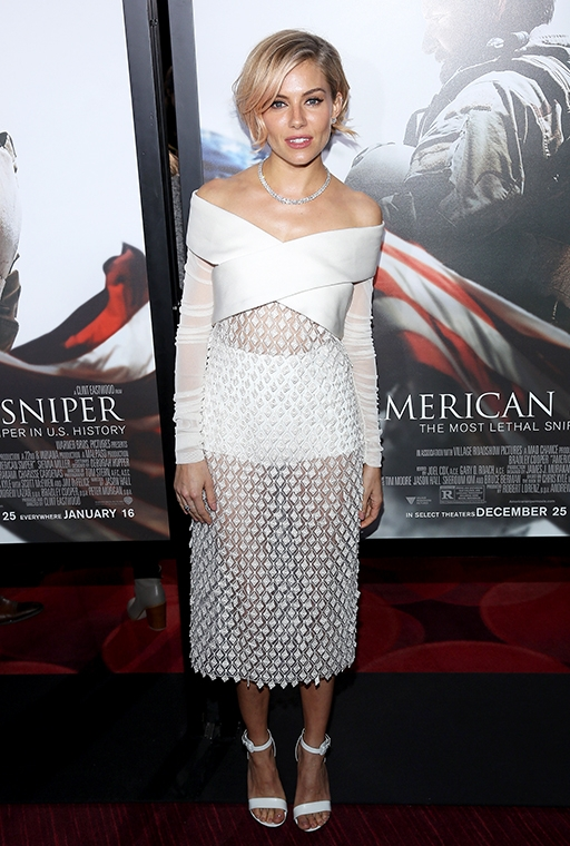 the 'American Sniper' New York premiere, December 2014