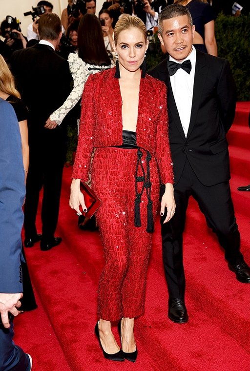 the Met Gala, May 2015