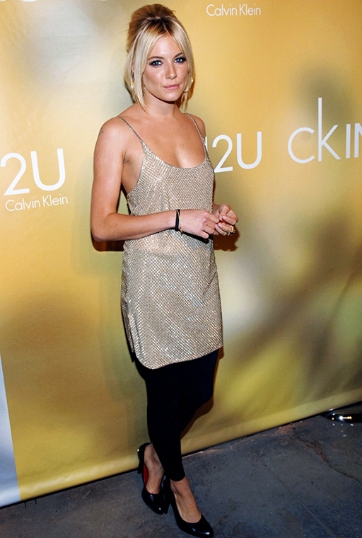 the Calvin Klein fragrance release party, March 2007