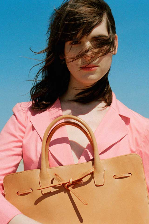 Which transgender beauty is the new face of Mansur Gavriel?