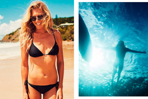 "Steph Gilmore on fitness: ""Everyone needs a bit of discipline"""
