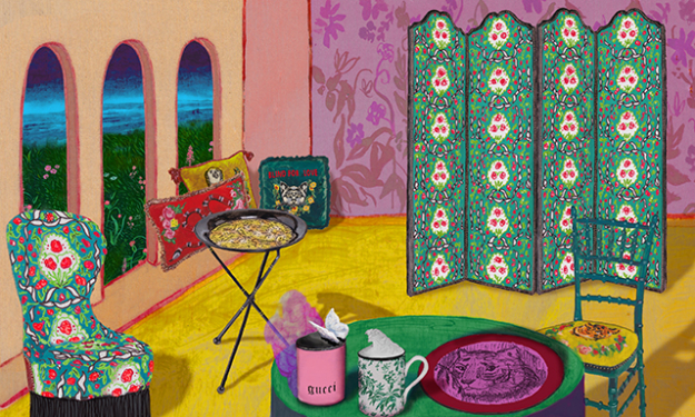 Click through to see the upcoming Gucci Decor range