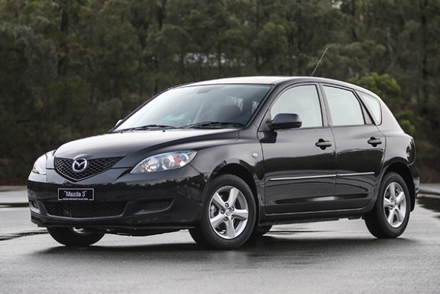 2005 MAZDA3: And here we are at the first generation of the Mazda3 as we know it. A back-to-the-drawing-board car that threw away the 323 badge and came back with a longer wheelbase and inoffensive design – this is one of the few cars that hasn't seem to date all that much in 12 years. Drive wise: it performs elegantly, powerfully and reliably. While I do miss the foamy interior and pop-up headlights of 323 past, it's also still pretty fun to drive.