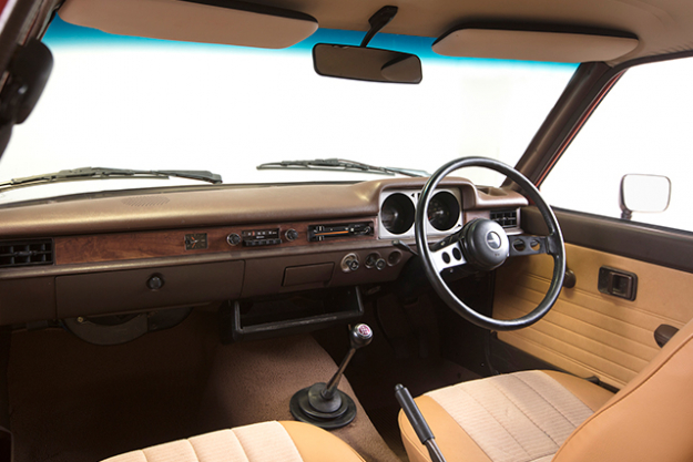 """It carries people. It carries things. It carries itself beautifully,"" reads the original ad for mega-lightweight hatch in 1977. ""One of the roomiest and most spacious cars in its class."" This was true – the simple, chocolate and woodgrain dash and open, bright windows made for a retro-minimalist experience, the thin steering wheel, clunky gear shift, rear-wheel drive and the fact I had to open my window to de-mist the windscreen just added to it."
