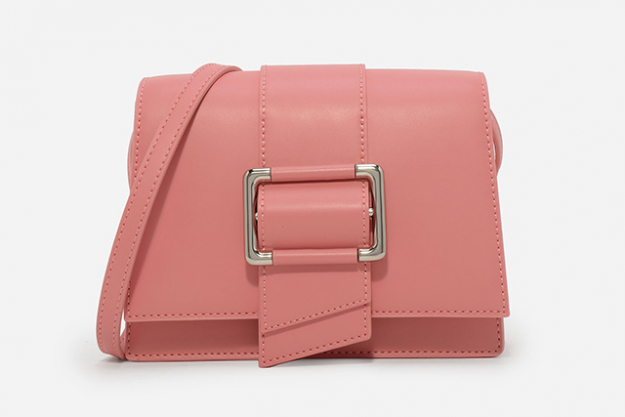 "1.	Every woman needs a pop of millennial pink this spring, and this handbag, $69, is the perfect way to go get it.<p><span style=""font-size: 17px;""><a href=""https://goo.gl/8ZhcPn"" target=""_blank""></a></span></p>